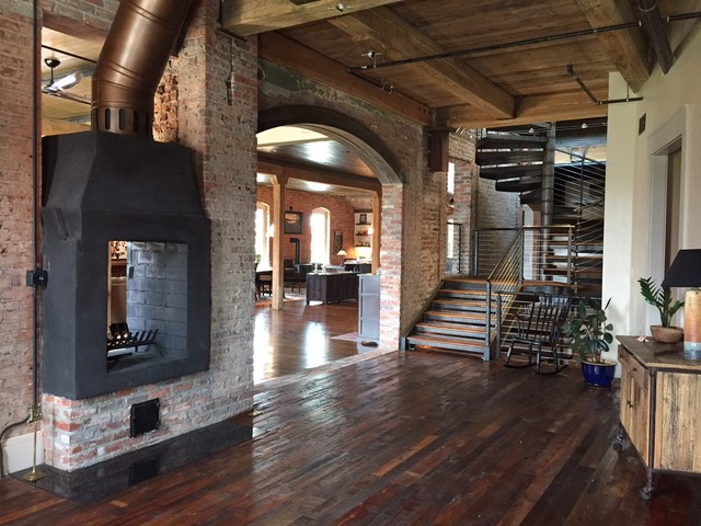 Downtown Durham, NC Loft Renovation of a 100 yr. old ...
