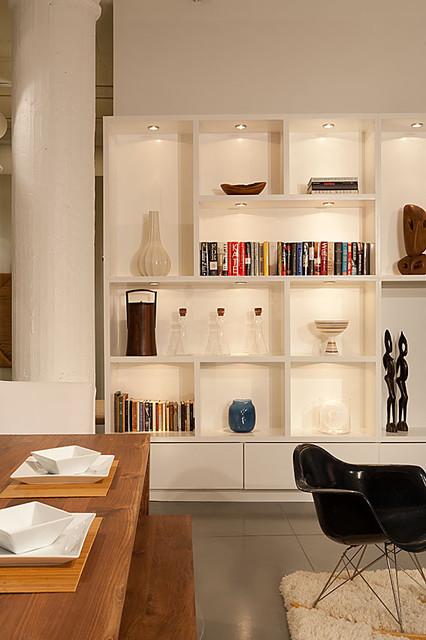 Downtown Loft modern-living-room