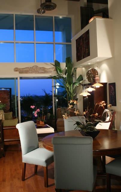 Downtown Loft Sarasota Transitional Living Room Tampa By Judi Summers