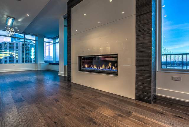 Downtown Penthouse Omaha Ne Contemporary Living Room Omaha By Eurowood Cabinets Inc