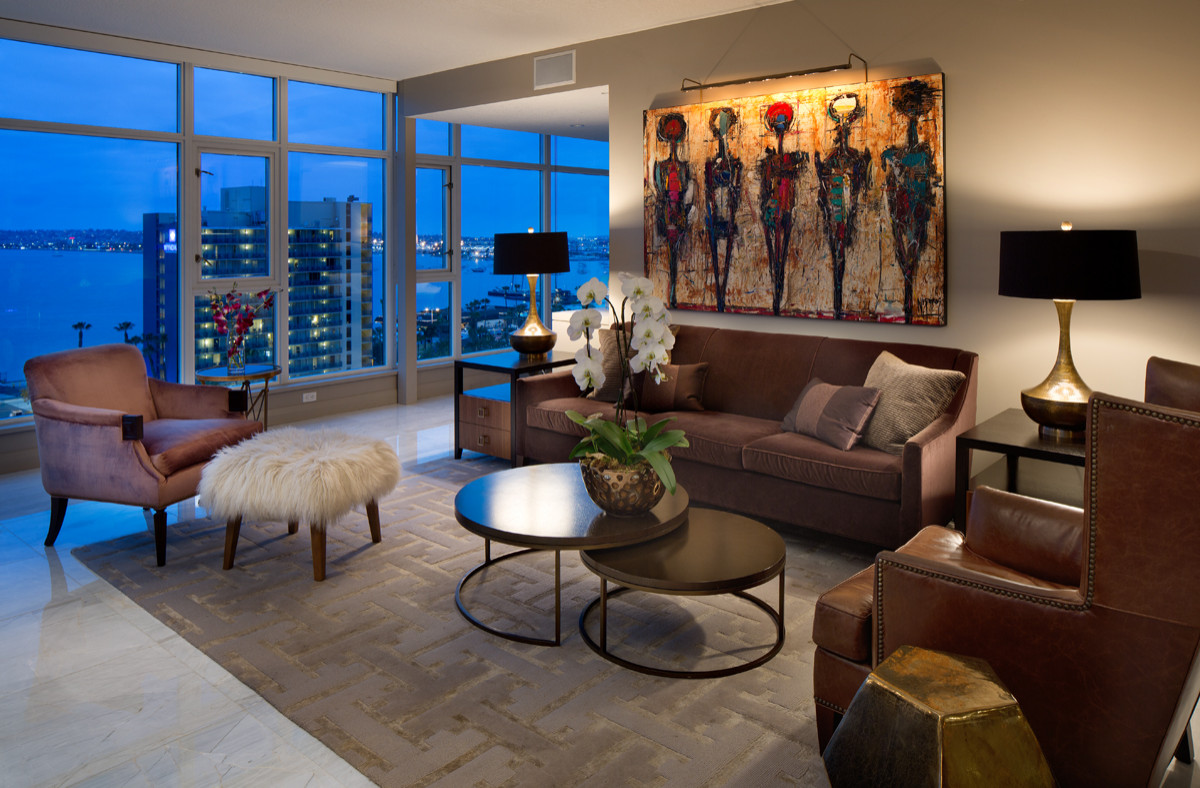 Downtown San Diego High Rise, Single Unit, Complete Remodel