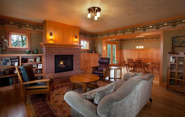 Dr. Skagg Residence traditional-living-room