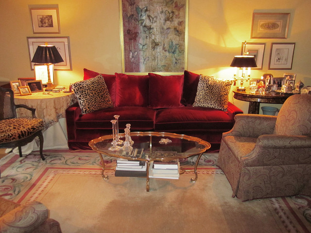Dramatic Living Room eclectic-living-room