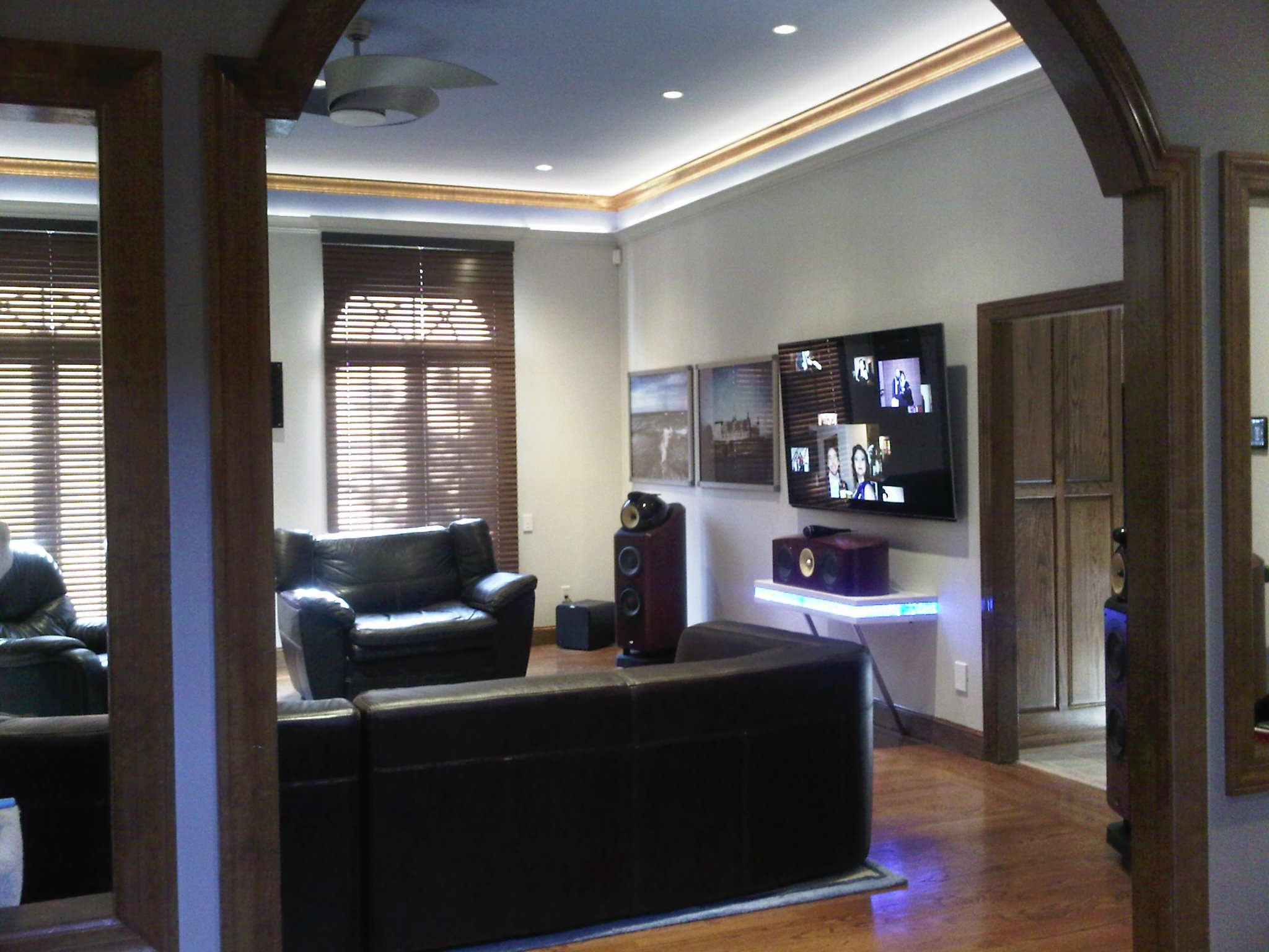 Dramatic Living Room