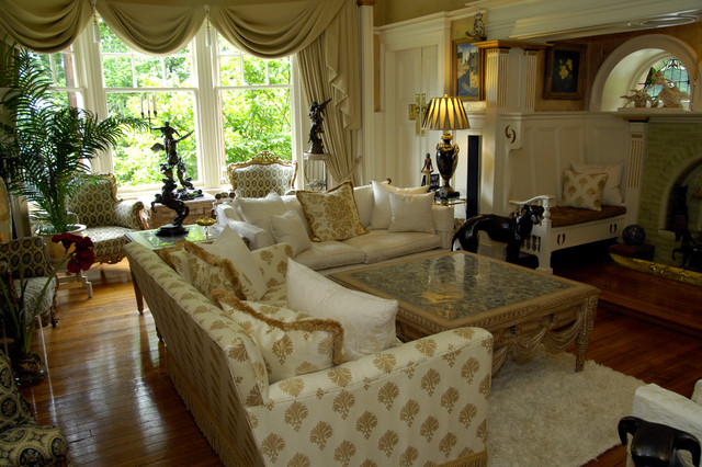 Dramatic Lounges Traditional Living Room Glasgow