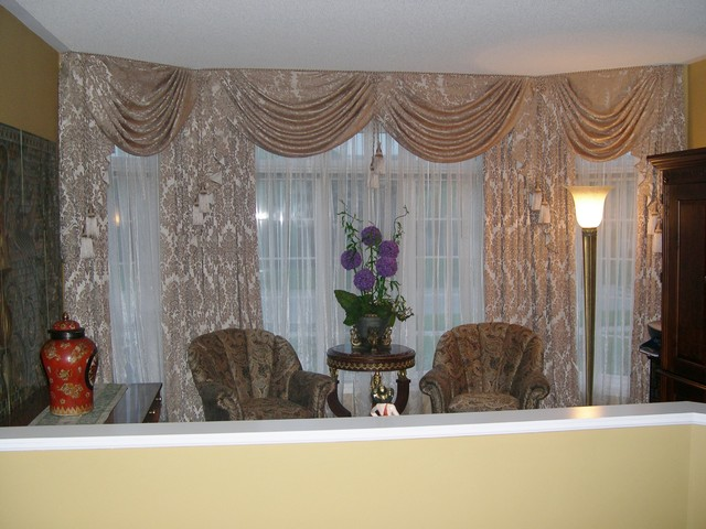 Drapery, curtains, window coverings. - Living Room - Toronto - by ...