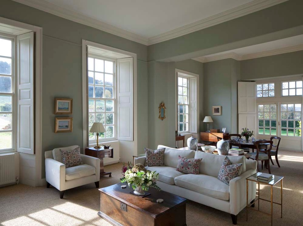 Drawing Room Traditional Living Room London By Mg Interior Design