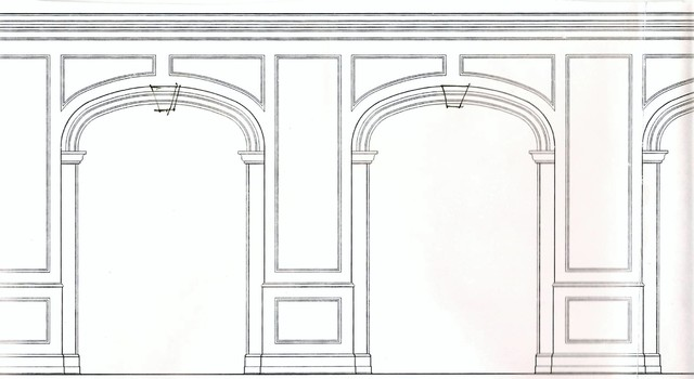 drawings traditional-living-room