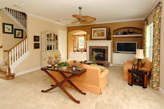 Drayton traditional-living-room
