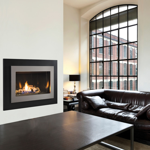 Drc3000 contemporary gas fireplaces by superior for Modern living room gas fires