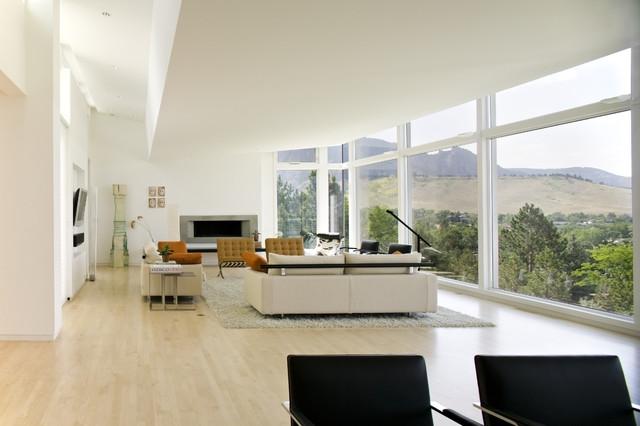 Dream Home - Boulder, Colorado - Modern - Living Room - Denver - by ...