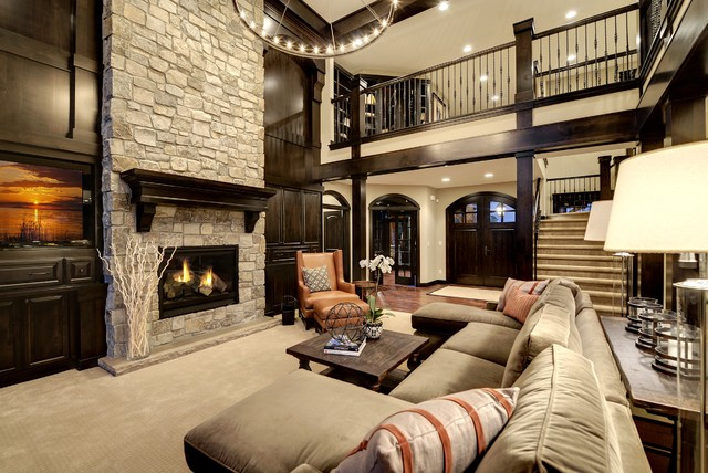 Dream Home Living Room Transitional Living Room Minneapolis