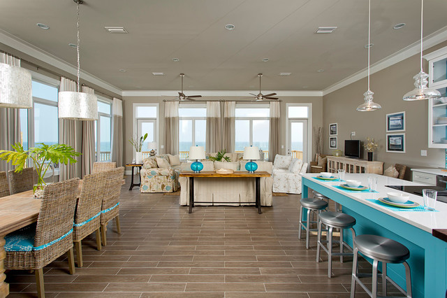 Dream Home On The Beach Beach Style Living Room Other Metro By