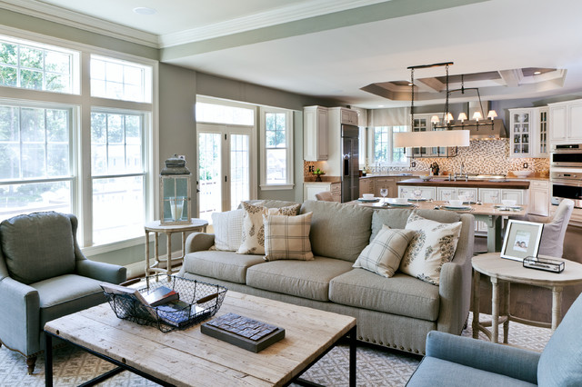 Attractive Dream House Studios, Inc. Transitional Living Room