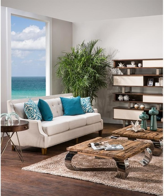 drisy sofa transitional living room miami by el