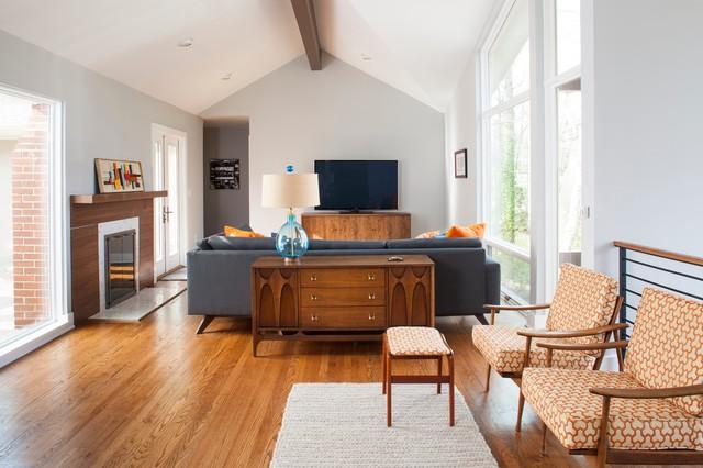 Druid Hills Mid Century Modern Midcentury Living Room