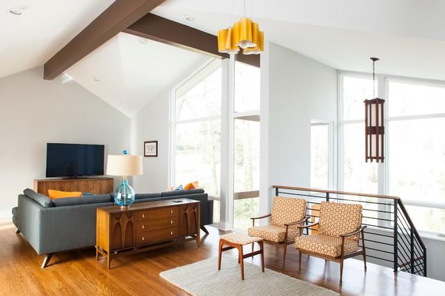 druid hills mid century modern midcentury living room atlanta