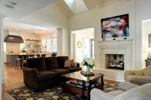Druid Hills Renovation traditional-living-room