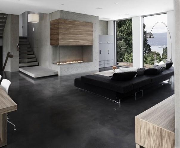 Drummond Drive Residence living-room