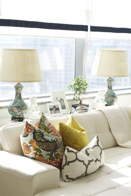 Dubai Eclectic eclectic-living-room