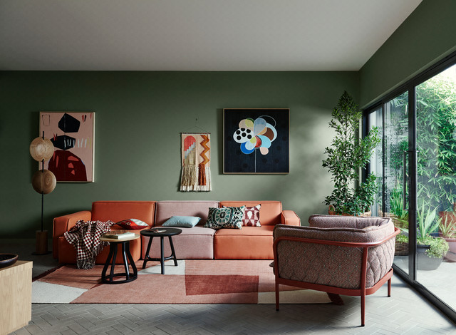 Dulux Colour Trends 2018 Contemporary Living Room