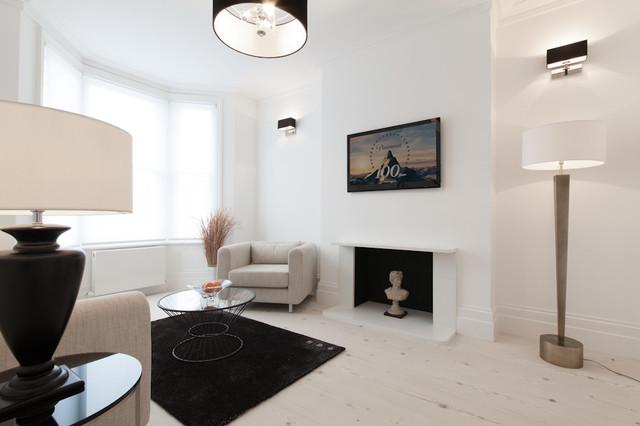 Dulwich - Show Home contemporary-living-room