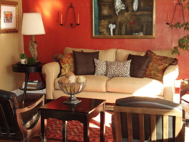 Dumpster Chic Living Room eclectic-living-room