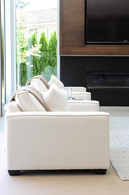 Dundarave contemporary living room vancouver by for Acacia salon vancouver