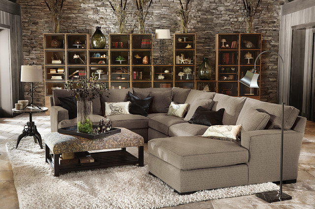 Dune Collection Traditional Living Room By Arhaus