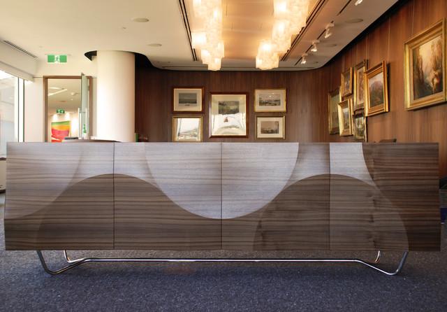 Credenza Perth : Dune credenza contemporary living room perth by adam