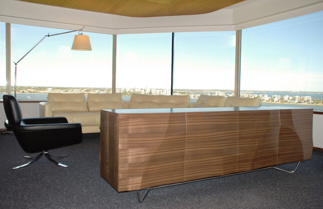 Dune credenza contemporary living room perth by for Adams cabinets perth