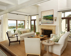 Duneside Renovations & Additions beach-style-living-room