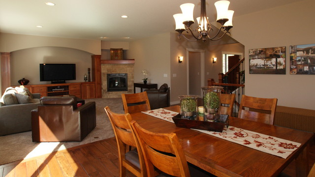 Dunlavin Woods Two Story Home traditional-living-room