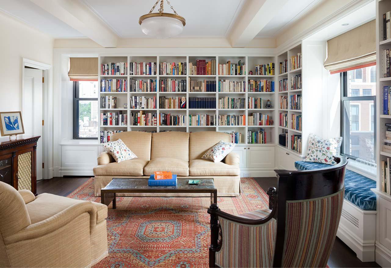Duplex Apartment Library