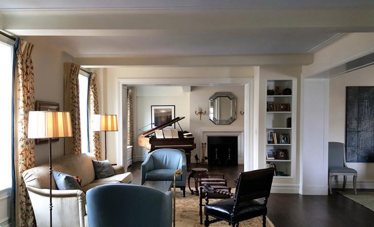 Duplex Apartment Living Room