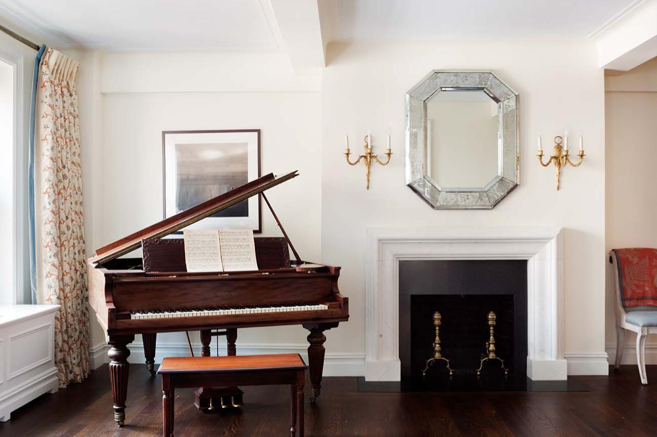 Duplex Apartment Music Room