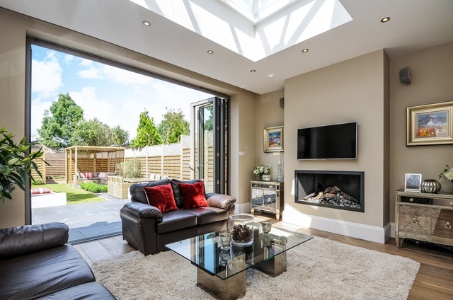 Durlston Road , Kingston upon Thames - Transitional - Living Room ...