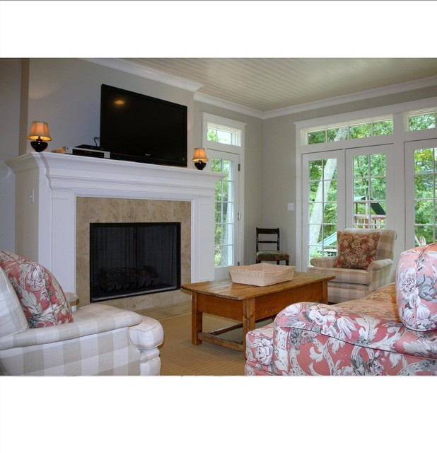 Dutch Colonial Traditional Living Room Grand Rapids