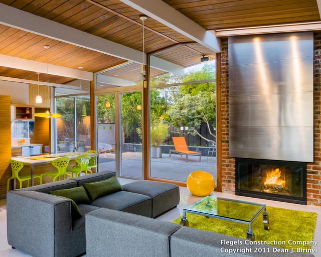 dwell magazine silicon valley home tour - contemporary - living room - san francisco