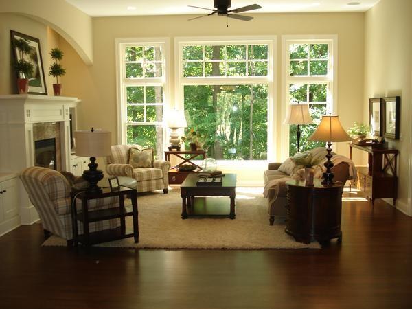 Dwellings traditional-living-room