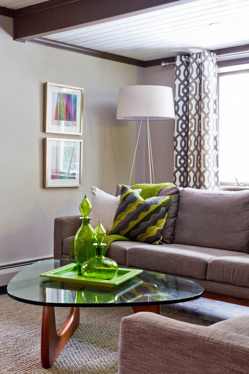 eclectic living room Floor Lamp Placement & Decor