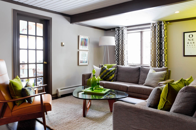 Dwr living room remodel modern living room - Houzz wohnzimmer ...
