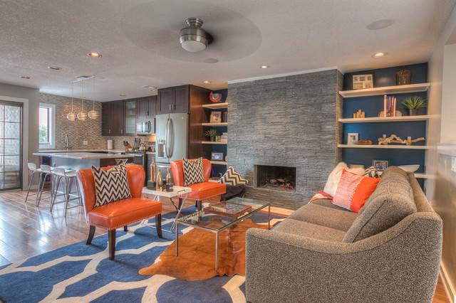 Dye Kansas City Modern Living Room