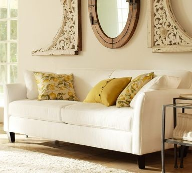 Dylan Sofa Pottery Barn Living Room By Pottery Barn