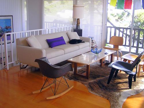 Eames Living Room modern living room