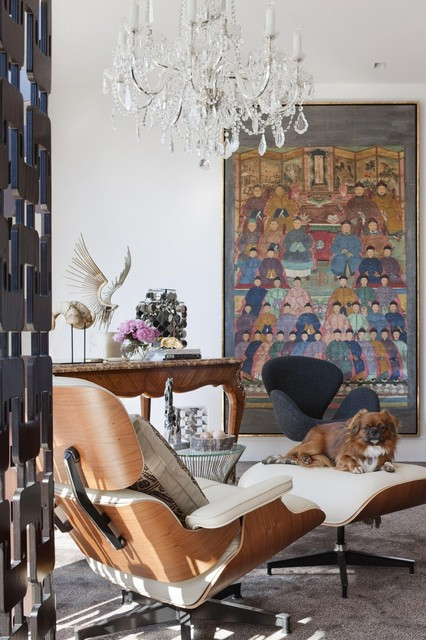Eames Lounge Chair - Contemporary - Living Room - Other - By Hua