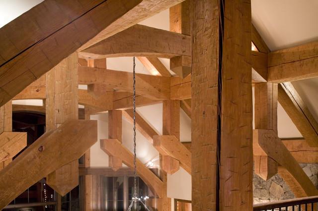 Earthman Residence traditional-living-room