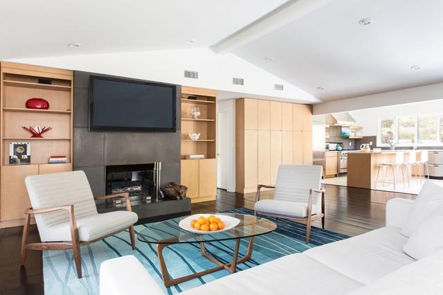East Hampton Ny House Contemporary Living Room New York By Franck Hodelin Company