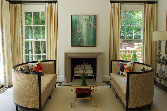 Eastover Road Project contemporary-living-room