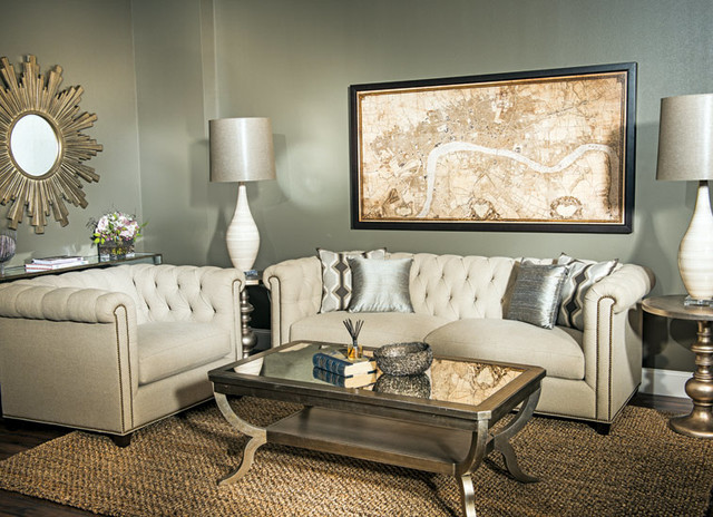 . Easy Elegance   Traditional   Living Room   Houston   by High